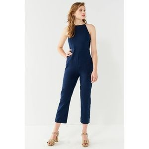 Urban outfitters high neck jumpsuit